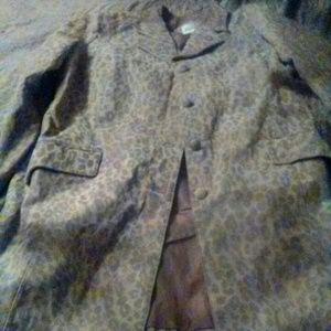 Jackets & Blazers - 24W Roaman's suede coat